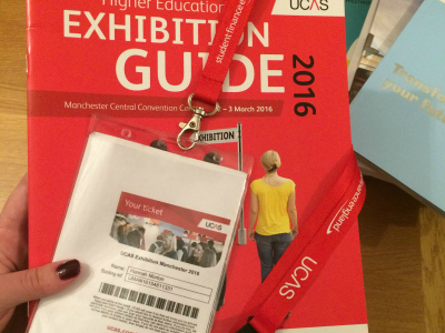 Ucas exhibition guide and ticket