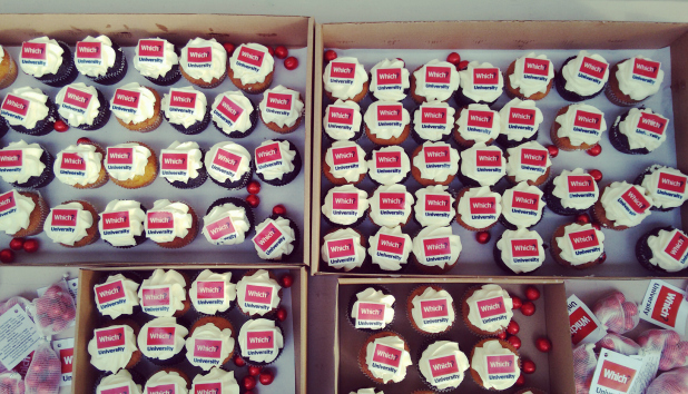 Results day 2016 party - cupcakes